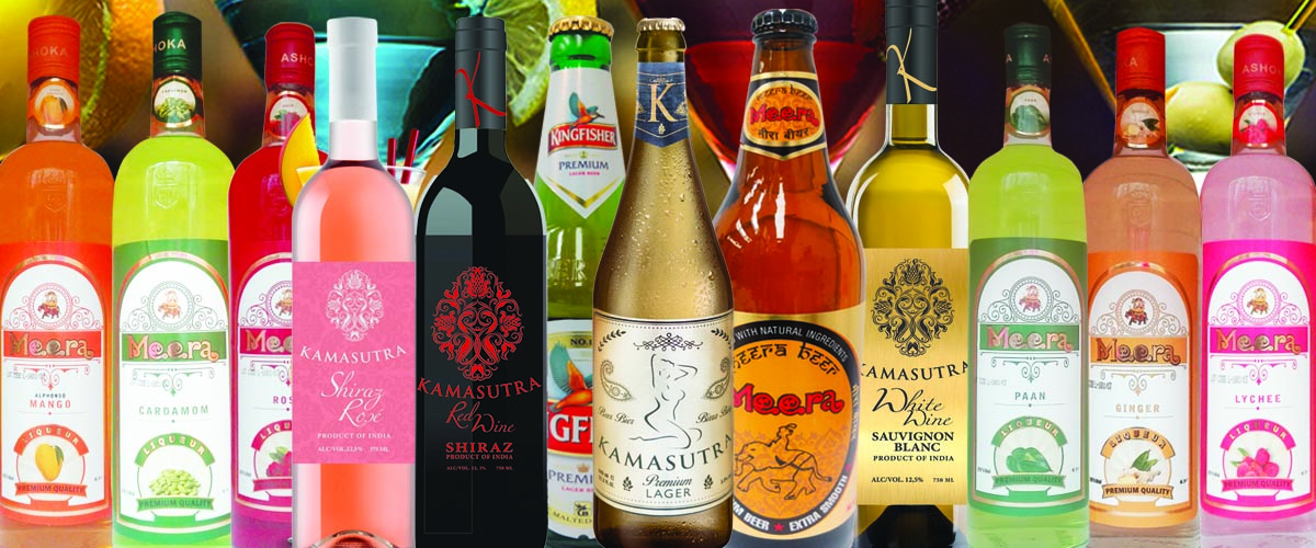 India Trading wine and liqueurs
